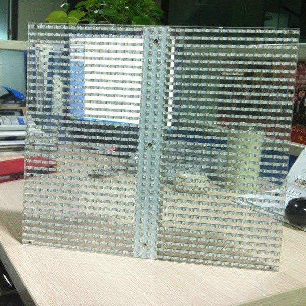 p10.4 transparent screen cabinet