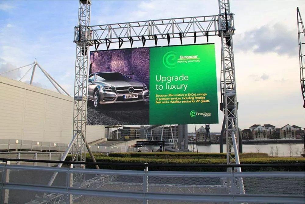 p3.91 outdoor rental display