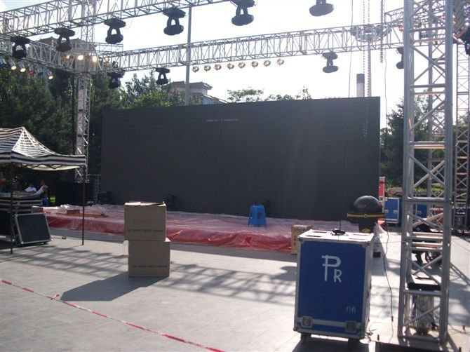 p6.25 led screen for rental