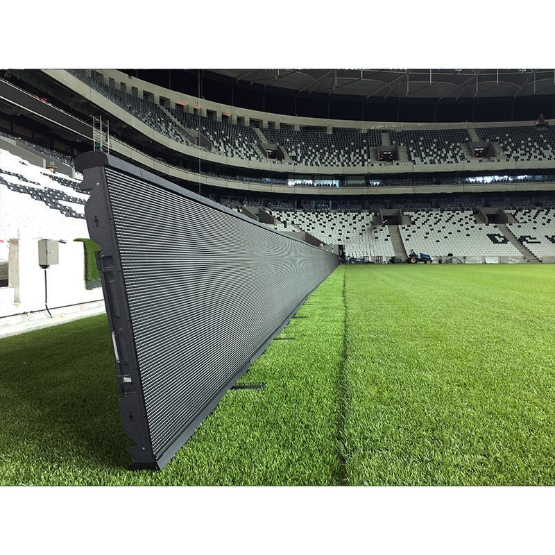 perimeter screen for football stadium