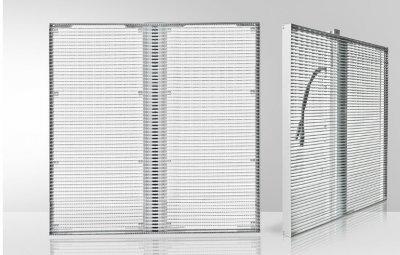 p3.91 transparent screen cabinet