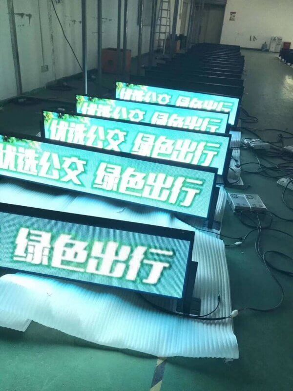bus screen aging process