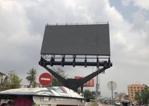 p6 outdoor led display case