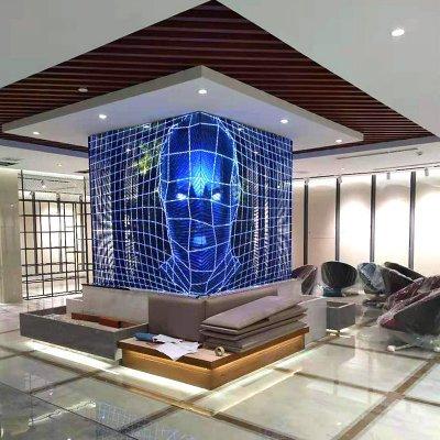 transparent led screen project